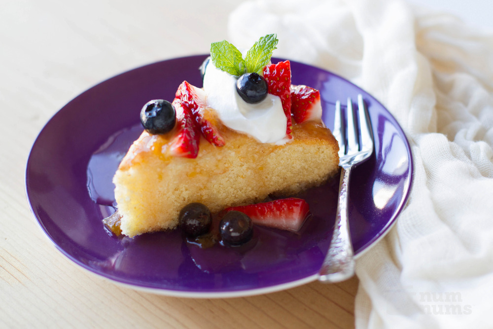 jacques pepin\'s almond cake