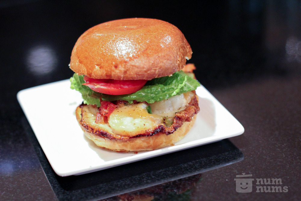 jacques pepin\'s shrimp burgers