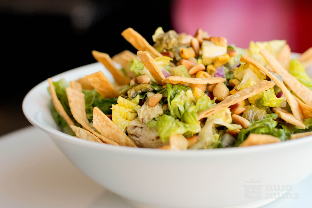 mexican chopped salad with cumin dressing from LA's Border Grill