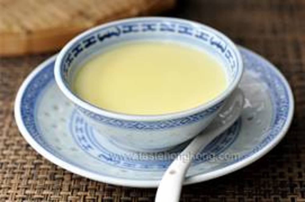 Steamed Vanilla Bean Custard
