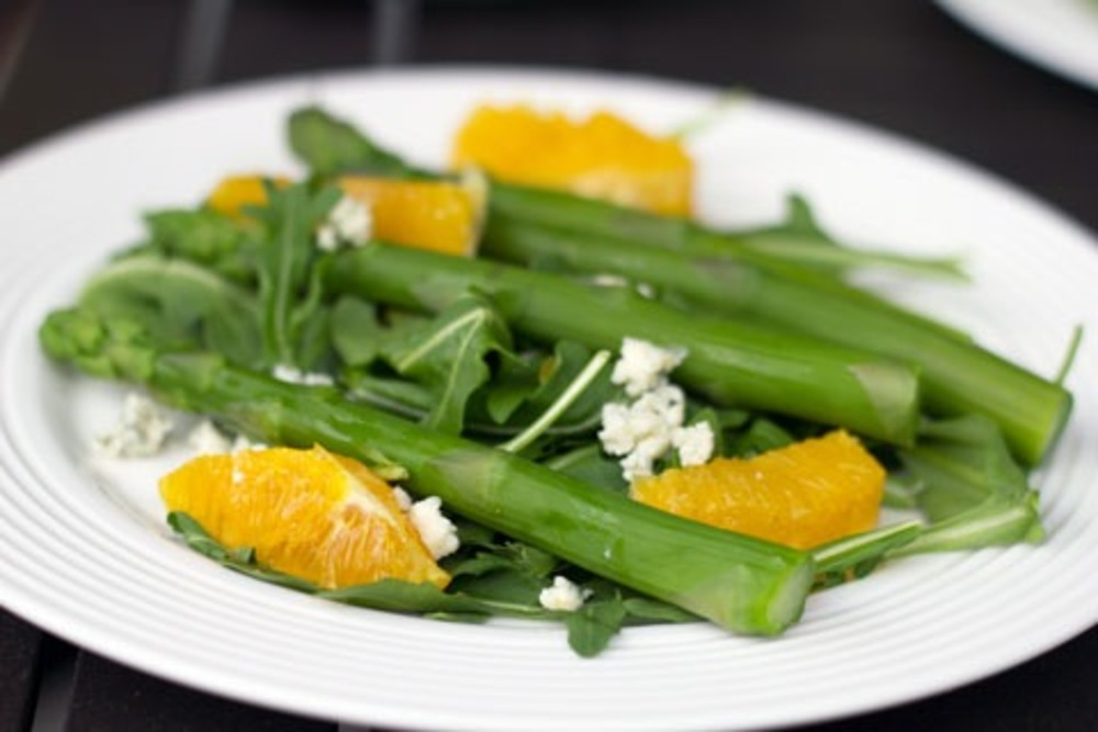 asparagus and citrus salad
