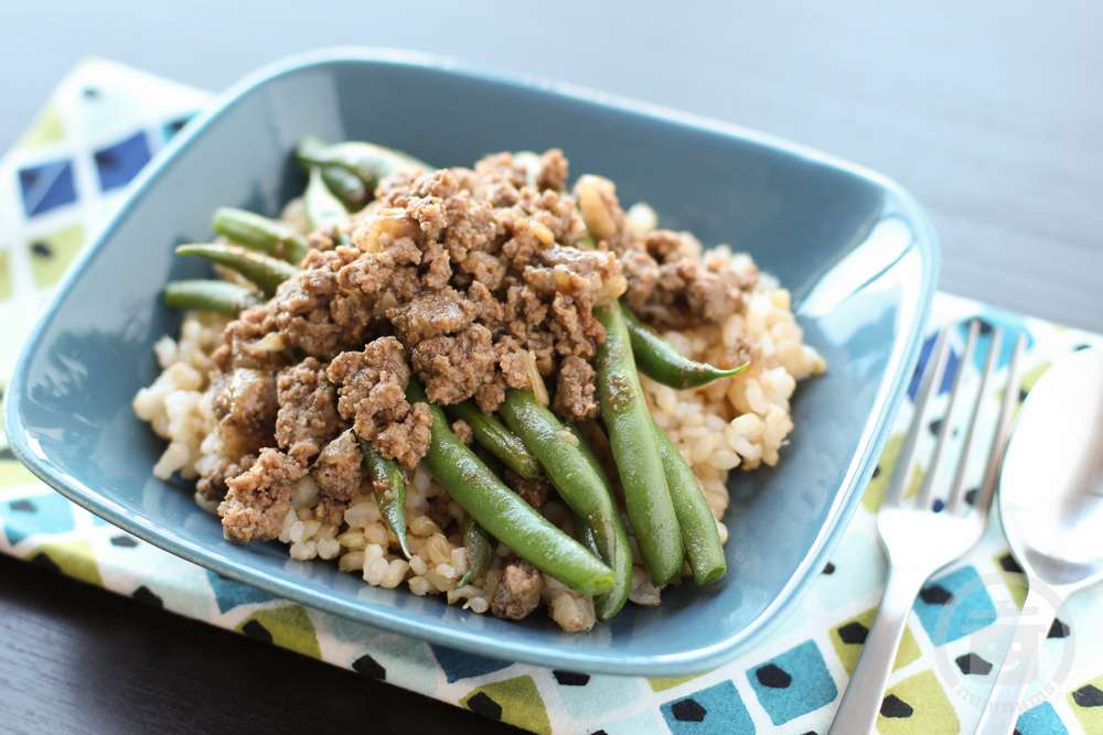 Green Beans Giniling Ground Beef In Oyster Sauce On Numnums Com