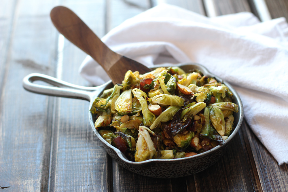 Big City's Roasted Sweet and Salty Brussels Sprouts