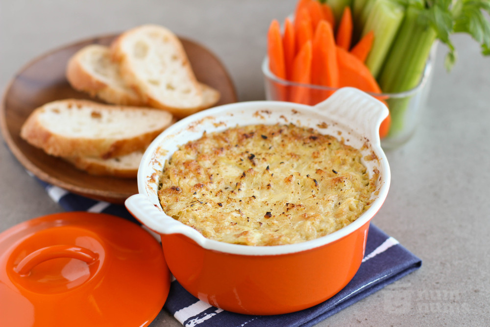 artichoke dip from Freeman\'s in NYC