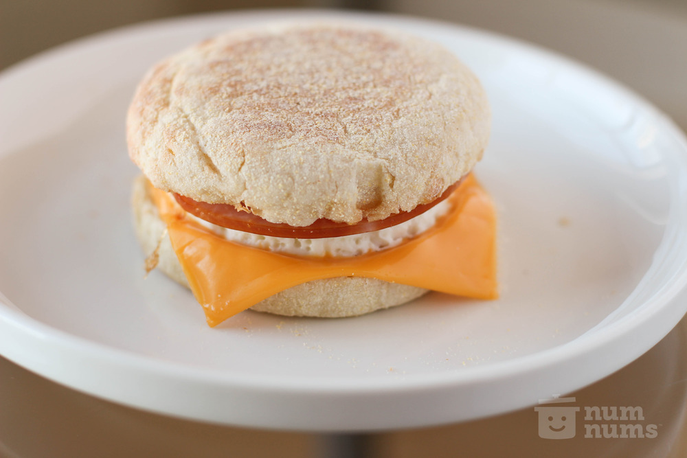 homemade egg mc muffin